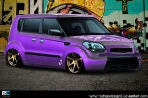 Kia Soul Purple Purple Eater