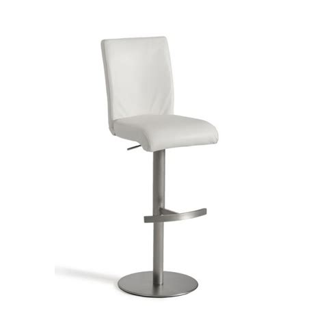 white leather bar stools contemporary modrest t 1206 modern white eco leather bar stool