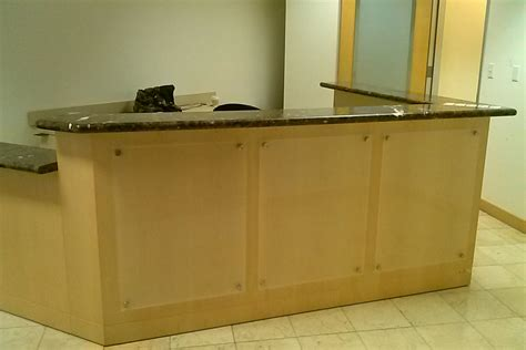 custom l shaped desk custom l shaped reception desk designs desk design
