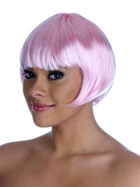 Termurah Wig Bob Pink Wig pin funshack on