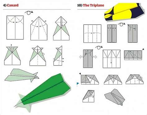 How To Make Different Paper Airplanes Step By Step - paper airplanes the triplane is awesome flying
