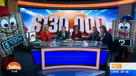 Today Show Money Giveaway - channel nine denies scam after today show gives away 130 000 block of cash