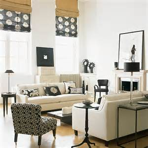 Black Living Room by 21 Black And White Traditional Living Rooms Digsdigs