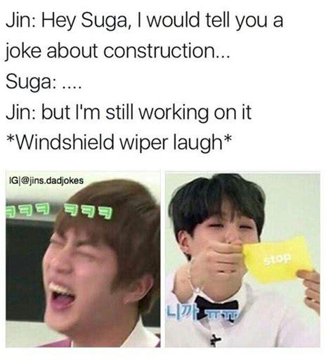 pin  kristela  bts memes bts bts memes jin dad jokes
