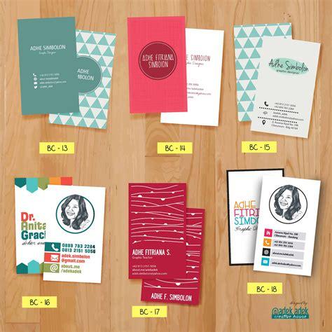 contoh desain kartu nama lucu jual kartu nama customize business card kartu nama