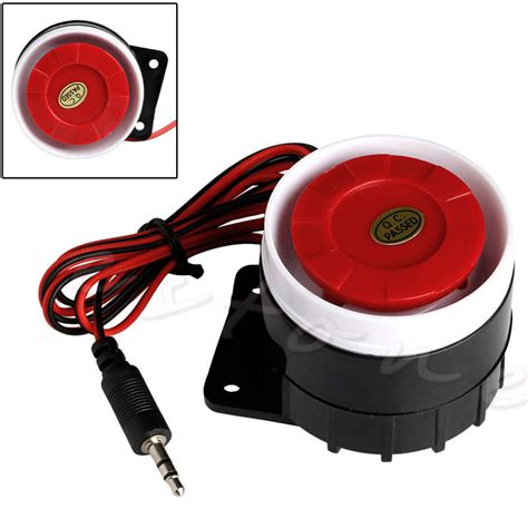 Alarm Horn new wired mini horn siren home security sound alarm system 120db dc 12v ebay