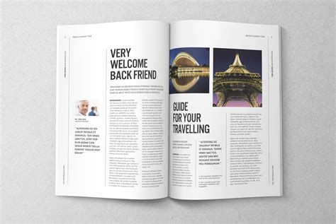 magazine editorial template 03 magazine templates on