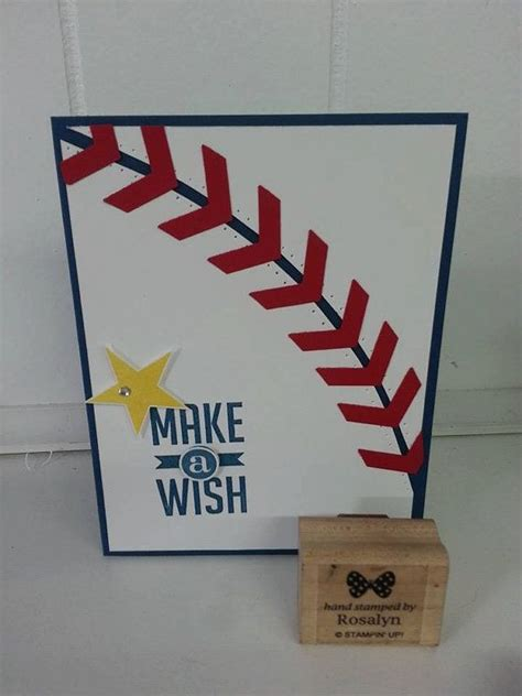make a baseball card make a wish baseball birthday card for boys or