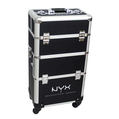 makeup train case with lights nyx makeup artist train case with lights extra large black