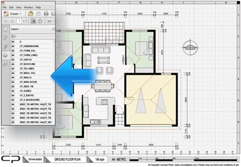 Who Owns The House Pdf by Tour How To Use Cad Pdf House Plans To Design