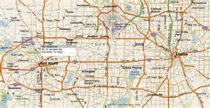 dallas fort worth metroplex map images