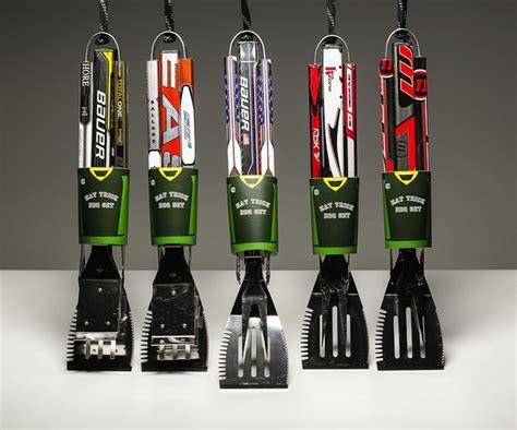 Hockey Stick BBQ Tools   Gifts For Men