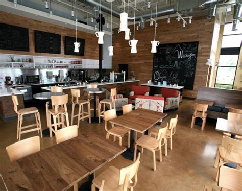 coffee shop interior design companies thatcher s coffee shop showcases modern recycled design