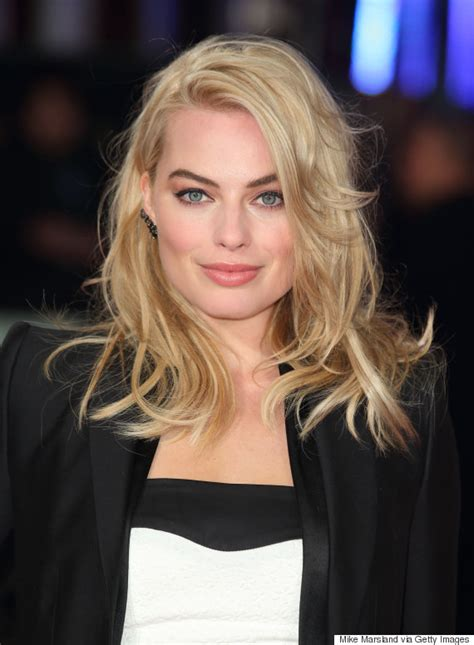 margot robbie headshot 11 hairstyles one margot robbie huffpost australia