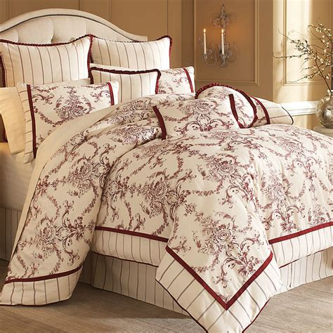 designer bed hidden glen luxury bedding set from the michael amini