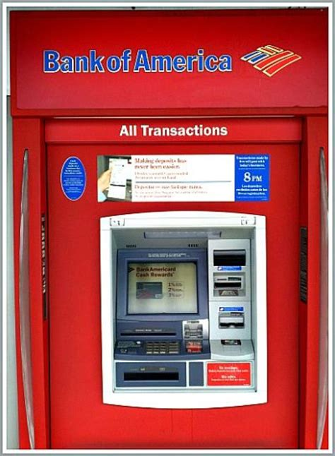 bank of america atm you can now use apple pay at some bank of america atms