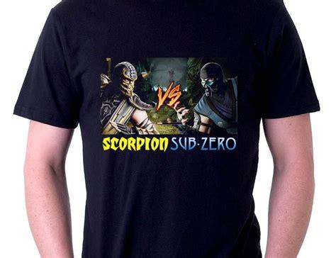 Kaos Skull Foil Kaos Baju Pasangan Sepasang jual baju kaos kaos mortal kombat scorpion vs sub zero