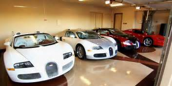 Garage Of Cars by Floyd Mayweather Cars Worth 15 Million Sitting In Garage