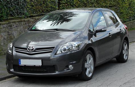 Toyota Auras File Toyota Auris Facelift Front 20100926 Jpg
