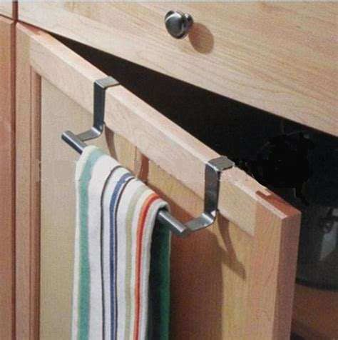 kitchen towel bars ideas cabinet hanger drawer hook over door kitchen bathroom bath
