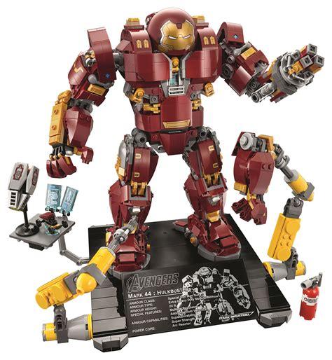 suit lego hulkbuster ultron edition