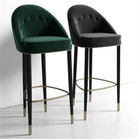 Club Chair Bar Stools by Stools Design Extraordinary Upholstered Bar Stools With