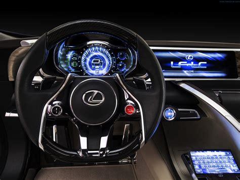 lexus lf lc interior 2012 lexus lf lc blue concept interior 2 track fever