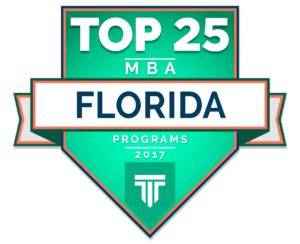 Best Mba 2017 by Top 25 Mba Programs In Florida 2017