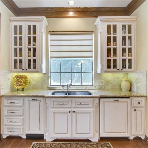Kitchen Sink Window Treatment Ideas Sink Bump Out Kitchen Traditional With Window Treatment