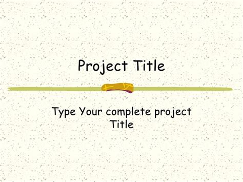 project review ppt template