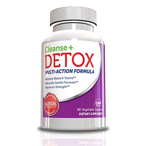 Purify Detox Formula by Cleanse And Detox Multi Formula 60 Vegie Caps