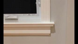 How To Build A Window Sill How To Make Window Sills Aprons