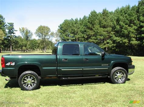 chevy green 2003 green metallic chevrolet silverado 2500hd lt