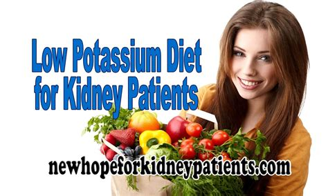 vegetables low in potassium low potassium diet for kidney patients to manage potassium