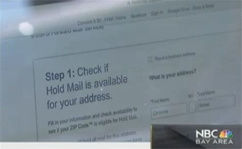 Hold Mail Post Office by Is Post Office Allowing Id Theft To Happen