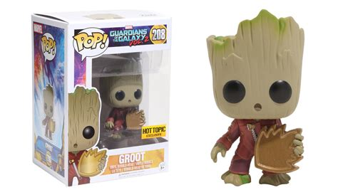 Funko Pop Groot Guardians Of The Galaxy guardians of the galaxy vol 2 groot vinyl bobblehead pop topic exclusive by funko