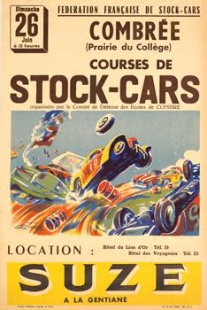 vintage car poster, vintage automobile poster