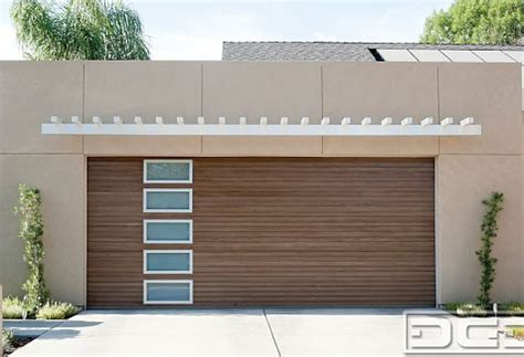 composite wood garage doors eco modern style garage doors matching entry doors in composite wood dynamic garage door projects