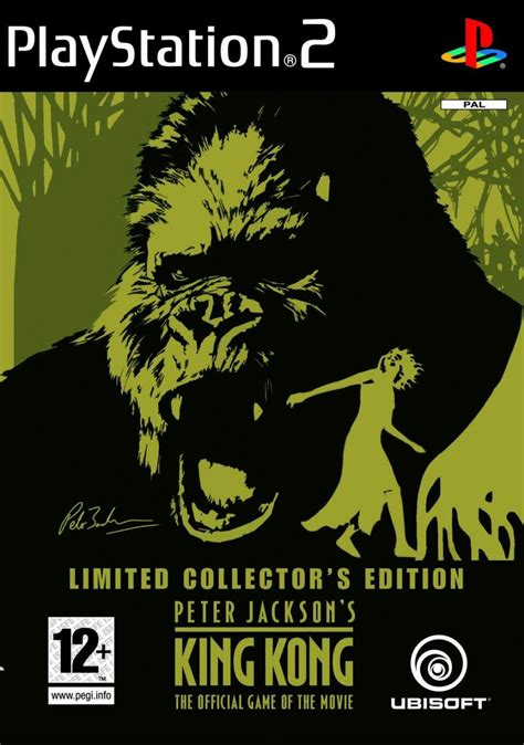 jackson s jaquettes peter jackson s king kong the official game of