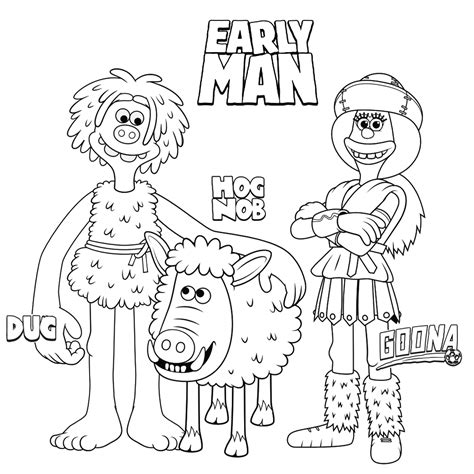 coloring pages early man early human coloring pages sketch coloring page