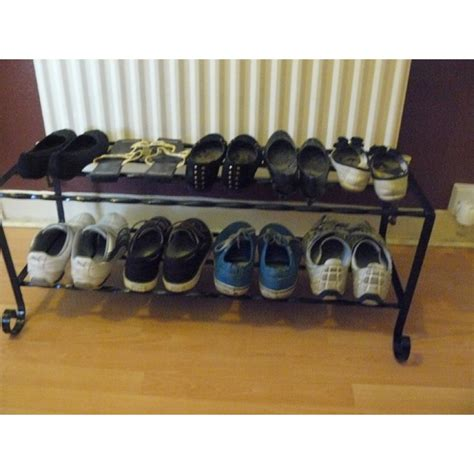Handmade Shoe Rack - shoe rack handmade shabby chic wrought iron shoe storage