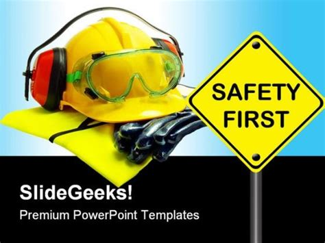Safety First Construction Powerpoint Backgrounds And Templates 1210 Powerpoint Presentation Health And Safety Powerpoint Templates