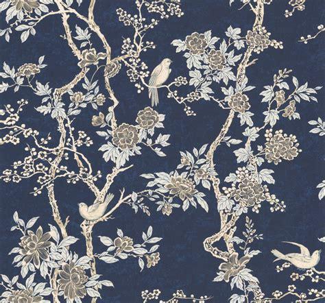 ralph lauren wallpaper marlowe floral by ralph prussian blue wallpaper direct