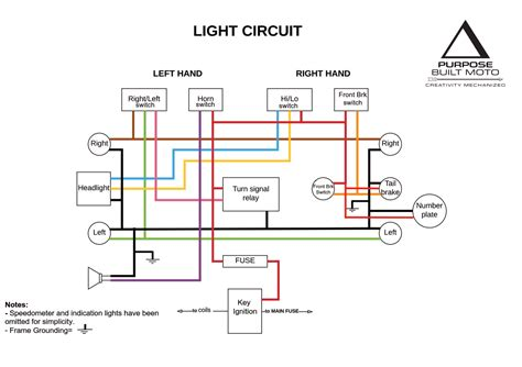 motorcycle driving lights wiring diagram new wiring
