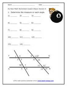 do now math grade 8 basic version 9