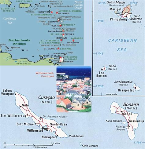 antilles islands map netherlands antilles map caribbean sea willemstad