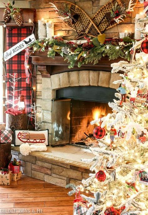 Country Home Decorations rustic natural cabin chic christmas style series the