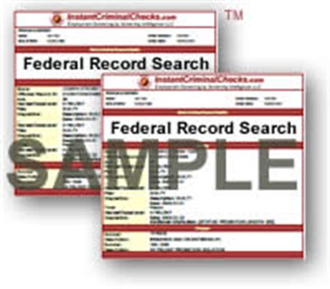 Federal Search Criminal View All Criminal Background Check Sle Reports