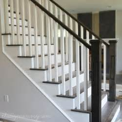 stair rail decorations best 25 painted stair railings ideas on