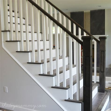 how to make a banister for stairs best 25 painted stair railings ideas on pinterest diy